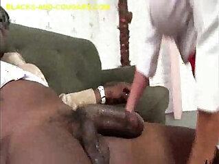 Big Black big Cock on Big Titted MILF