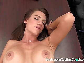 Big Tits Stripper Ass Fucked on Casting Couch