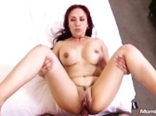 Sexy Mature Latina Milf Anal Fucks her Young Cock