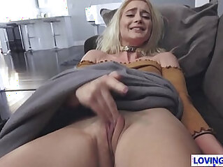 Sweety Anastasia Knight Plays With Stepbros Penis