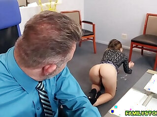 Big Daddy got Bambi Brooks riding on top of his cock