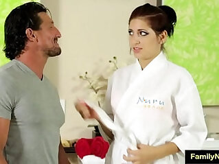 Father daughter sex massage porn