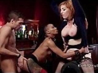 Master anal bangs slave and media lady