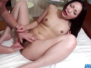 Dashing brunette bitch gets pumped and made to swallow