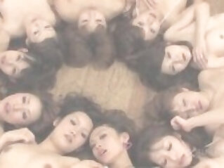 Wet Hot Ten Girl Orgy Uncensored JAV