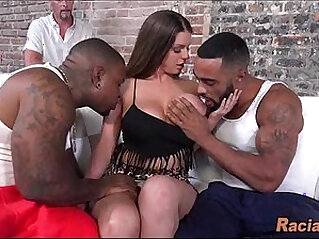 Hot White Wife Black Cock In Front Of Her Husband