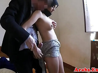 Stunning blonde babe drilled by big cock