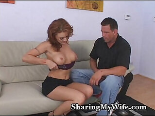 Wifes Fire Crotch Drilled By Stud