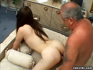 Teen Rides Old Dudes Dick
