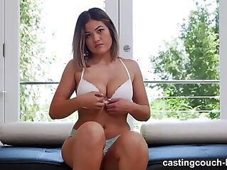 Asian Girl Loves Her First big Black mamba Dick