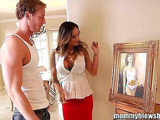MommyBlowsBest Nadia Styles Is The Horniest MILF! at mommy niche