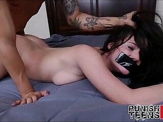 Brunette amateur Teen Fucked very Hard