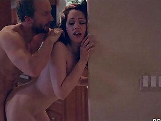 Slutty College Student Sarah Shevon Takes Home Older Cock