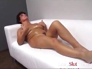 Step mom with big tits with son
