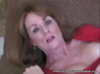 Busty Milf Mom Fucked By Her Son And His Friend