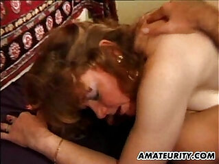 Mature wife anal fuck with facial shots